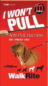I won't pull