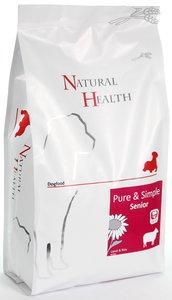 Natural Health dog lamb & rice senior