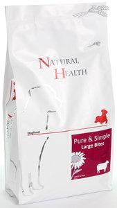 Natural Health dog lamb & rice large