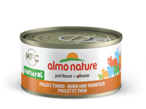 Almo Nature kip en tonijn