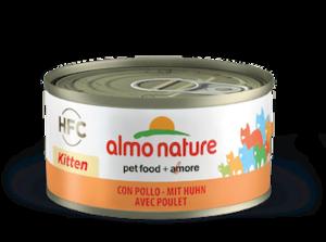 Almo Nature kitten met kip