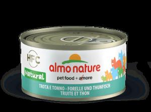 Almo Nature forel en tonijn
