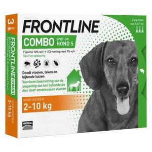 Frontline combo hond 2-10 kg