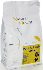 Natural Health cat senior