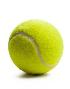 Tennisbal (gebruikt)