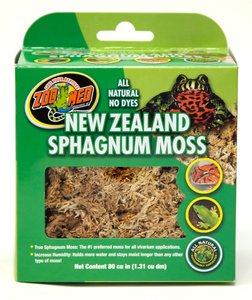 Zoo Med new zealand sphagnum moss